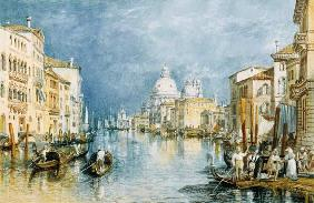 Turner, William : Venice, Canale Grande