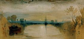 Turner, William : W.Turner, Chichester Canal...