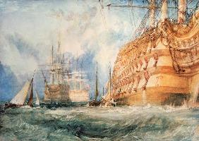 Turner, William : The equipment of a warship...