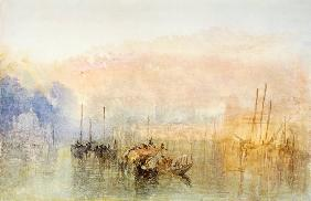 Turner, William : Turner / Venice, Entrance ...