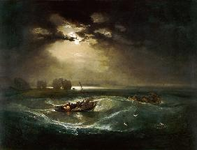 Turner, William : Fisherman at sea