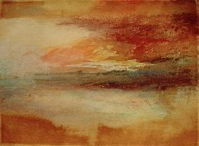 Turner, William : W.Turner, Sonnenuntergang ...