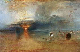 Turner, William : Calais Sands at Low Water,...