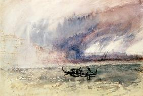 Turner, William : Storm over Venice