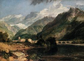 Turner, William : Bonneville (Savoyen) with ...