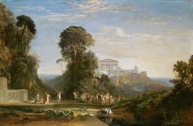 Turner, William : The Temple of Jupiter - Pr...