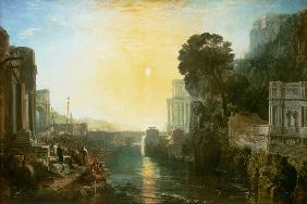 Turner, William : Dido building Carthage, or...