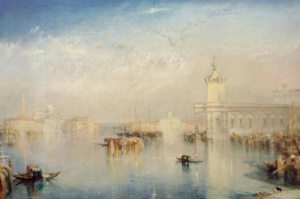 The Dogana, San Giorgio, Citella, Venice, from the Steps of the Europa 1842