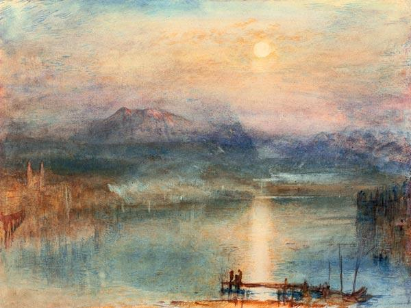 Turner, William : W. Turner, Lake Lucerne / ...