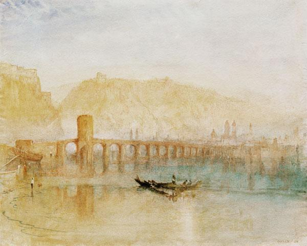 Turner, William : Mosel Bridge