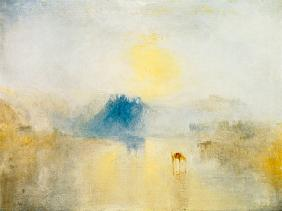 Turner, William : Norham Castle at sunrise