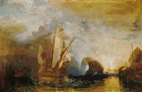 Turner, William : Ulysses mocks Polyphem