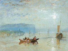 Turner, William : Scene on the Loire, near t...
