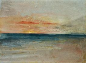 Turner, William : Sunset
