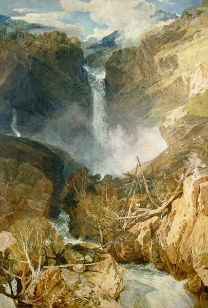 Turner, William : The Great Falls of the Rei...
