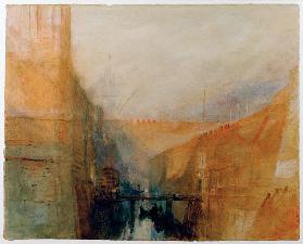 Turner, William : W.Turner, Venice, The Arse...