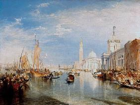 Turner, William : Venice, Dogana and S.Giorg...