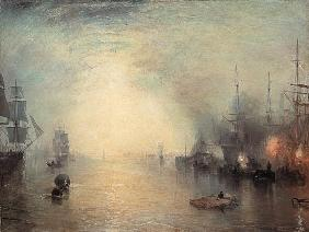Turner, William : Turner / Keelmen Heaving i...