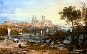 Turner, William : View of Lincoln
