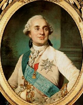 Portrait Medallion of Louis XVI (1754-93)