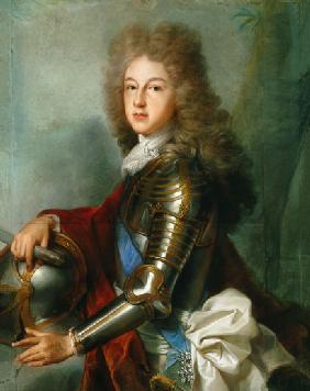 Portrait of Philipp of France (since 1700 as a Philipp V. king of Spain)