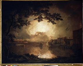 Wright of Derby, Joseph : Firework Display at the Ca...