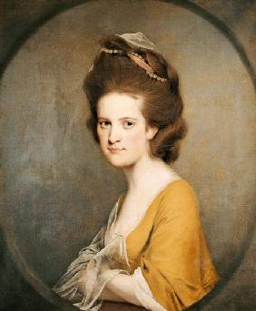 Wright of Derby, Joseph : Portrait Of Dorothy Hodges...
