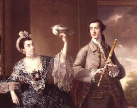 Wright of Derby, Joseph : Mr. and Mrs. William Chase