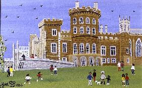 Belvoir Castle, 1992 (w/c)