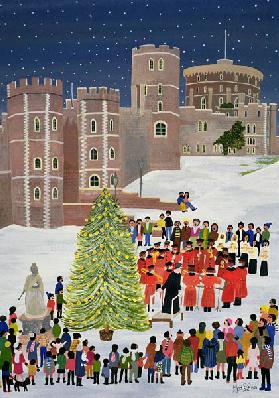 Windsor Castle Carol Concert, 1989
