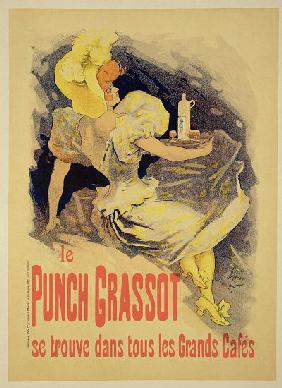 Reproduction of a poster advertising 'Punch Grassot'