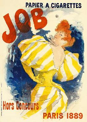 Poster for job cigarettes