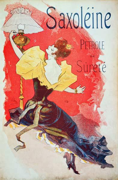 Ch�ret, Jules : Poster advertising 'Saxole...