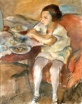 Pascin, Jules : Breakfast (Lunch)