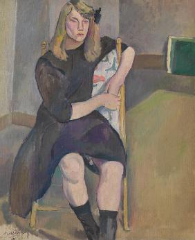Pascin, Jules : Seated Girl