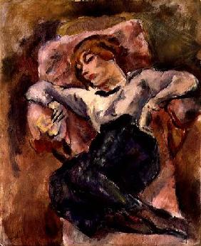 Pascin, Jules : Hermine David Sleeping