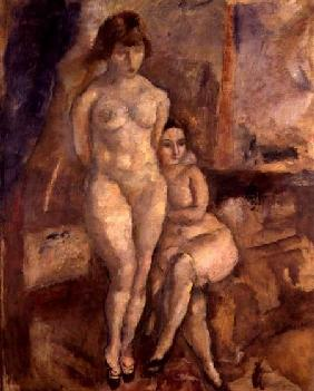 Pascin, Jules : The Two Models