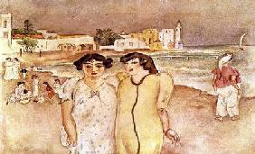 Pascin, Jules : A Seashore in Tunis