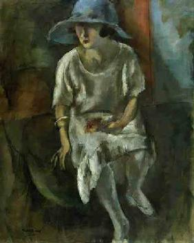 Pascin, Jules : Woman in a Hat