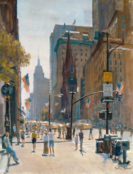Fifth Avenue, 1997 (oil on canvas)