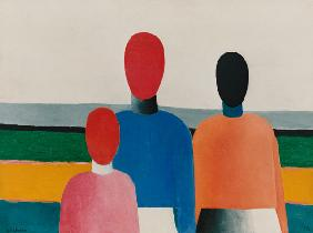 K.Malevich, Three female figures / 1928