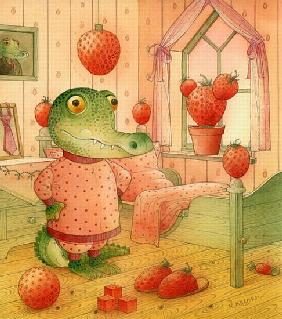 Strawberry Day, 2006 (w/c on paper)