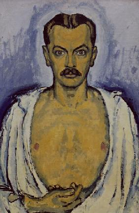 Koloman Moser , Self-portrait