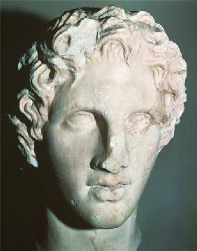 Leochares : Head of Alexander the Grea...