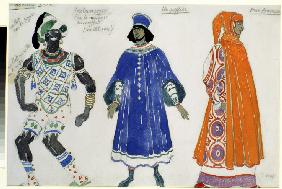 Costume design for the ballet Le Martyre de St. Sébastien by G. D'Annuzio