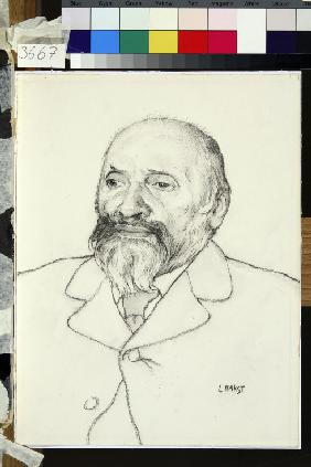 Portrait of the composer Mily A. Balakirev (1837-1910)