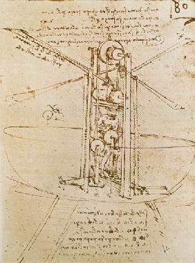 da Vinci, Leonardo : Flying Machine