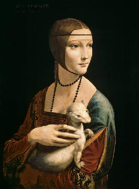 Lady with an Ermine (Cecelia Gallerani)