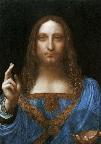 Christ as Salvator Mundi