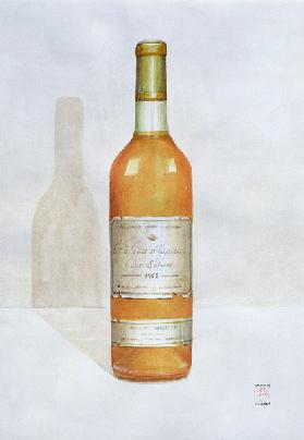Chateau d''Yquem, 2003 (acrylic on paper)